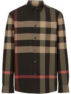 Burberry - 19FW 버버리 체크 코튼 셔츠