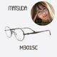  Other Brand   MATSUDA - MATSUDA 마츠다안경 M3015A MBK 검정 원형클래식스타일 매드