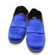 중고 Loewe - 뉴욕명품/ 블루 새틴 브라운 레더 로우힐 로퍼 37