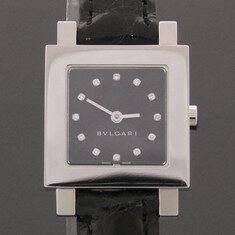 중고 BVLGARI - 뉴욕명품/SQ22SL 12포인트 다이아 악어 가죽 밴드 시계