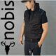 Nobis - 연말세일[18FW]노비스 리키바비 패딩 조끼 블랙