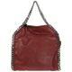 Women's handbag shopping bag purse tote falabella mini shaggy deer 371223W91326261 Red