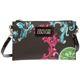 Women's clutch with shoulder strap handbag bag purse baroque E3VUBPU2-71283_899 Black