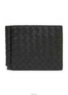 Bottega Veneta - [배송]보테가 베네타 위빙 머니클립 390877 BLACK