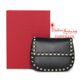 Valentino - [패션에비뉴] 발송 락스터드 크로스 바디 라운드 체인 백 블랙
