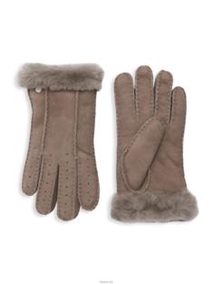 [국내배송] UGG Gloves 어그 양털 장갑 그레이