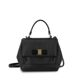 Black Calfskin Top handle Women's Totebag 21 F570