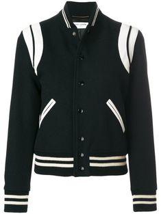 20FW 생로랑 블랙 여성 테디 보머 자켓